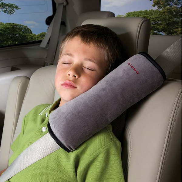 Gordelkussen Diono Seatbelt Pillow grijs