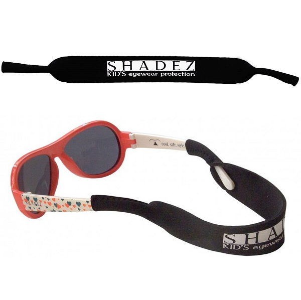Shadez hoofdbandje voor  kinderbril/zonnebril - Zwart