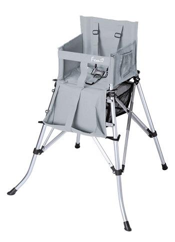Kinderstoel opvouwbaar One2Stay 2.0 Silver Metallic