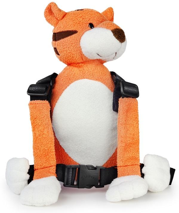 Kindertuigje met looplijn Harness Buddy - Tijger