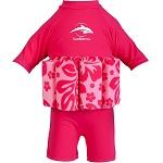 Drijfpakje met UV bescherming Konfidence Hibiscus roze