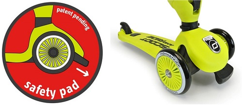 2-in-1 Loopfiets en Step Highway Kick lime