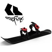Mini Ski / Mini Snowboard  Onefoot Miniski zwart/rood