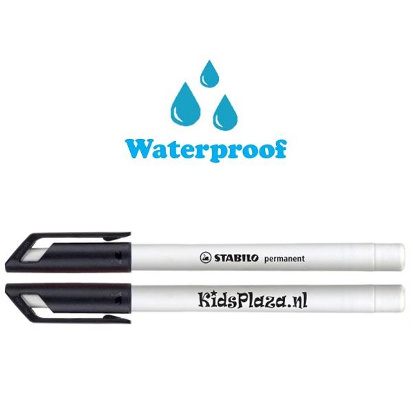Permanent marker waterproof Stabilo - KidsPlaza.nl - Zwart