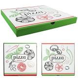 Pizzadoos karton 30 cm Set van 4 pizzadozen