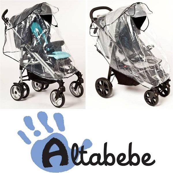Regenhoes buggy universeel voor buggy met kap - Altabebe