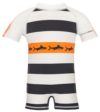 UV baby zwempak Snapper Rock Tribal Shark