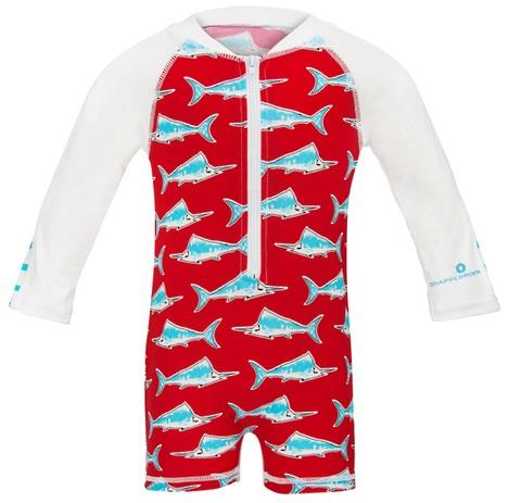 UV baby zwempak Snapper Rock Red Swordfish