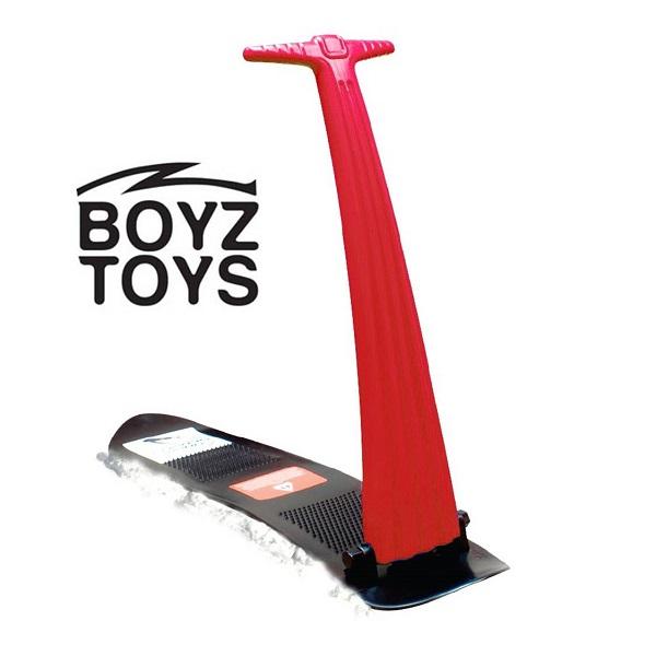Sneeuwstep opvouwbaar Boyz Toys rood