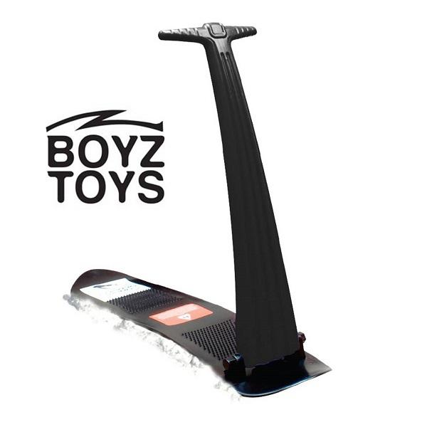 Sneeuwstep opvouwbaar Boyz Toys zwart