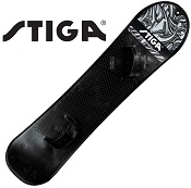 Snowboard voor kind & tiener Stiga Wild zwart