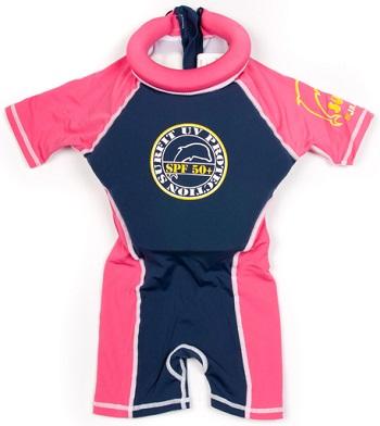 UV beschermend drijfpakje Swimsafe Surfit roze