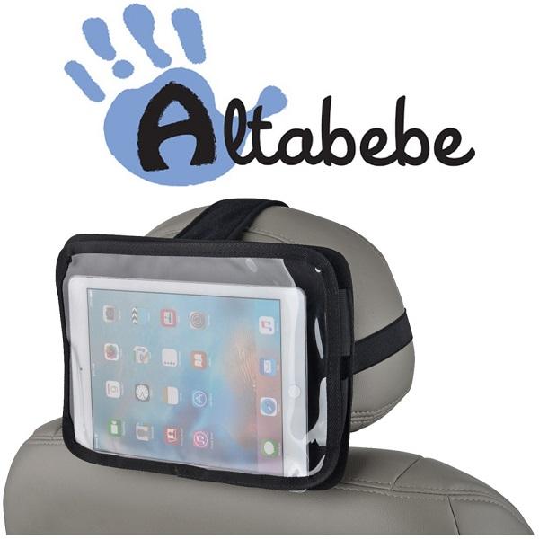 Tablethouder - iPad houder auto Altabebe - Zwart