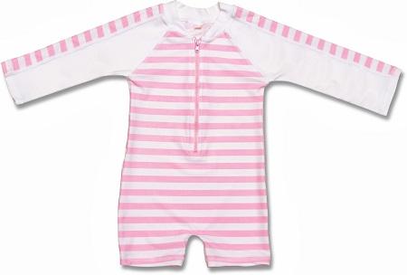 UV baby zwempak Snapper Rock Pink Stripe