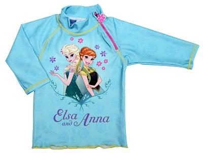 UV beschermend t-shirt Swimpy Frozen Elsa & Anna