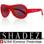 Shadez UV zonnebril Rood met Rode spiegelglazen