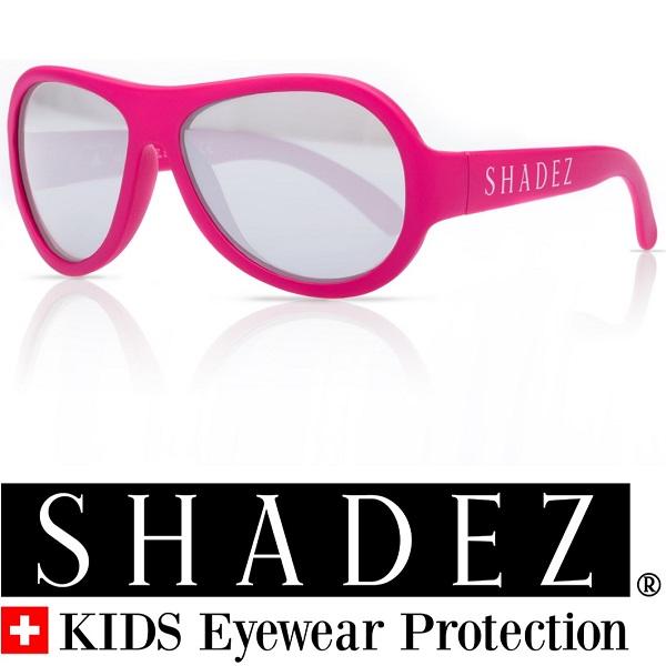 Shadez UV zonnebril Roze met Zilveren spiegelglazen