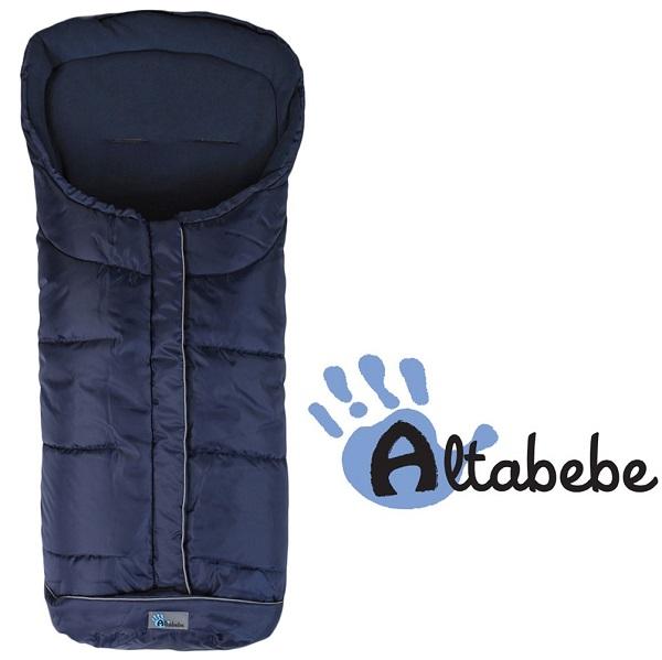 Voetenzak buggy universeel XL Altabebe Active blauw 6-36 mnd