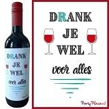 Wijnetiket - Drank je wel voor alles