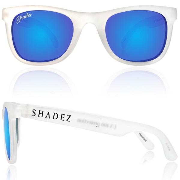 Polarized zonnebril 16+ jr Transparant / Blauwe spiegelglazen