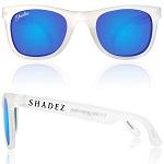 Shadez Polarized zonnebril 16+ jr Transparant / Blauwe spiegelglazen