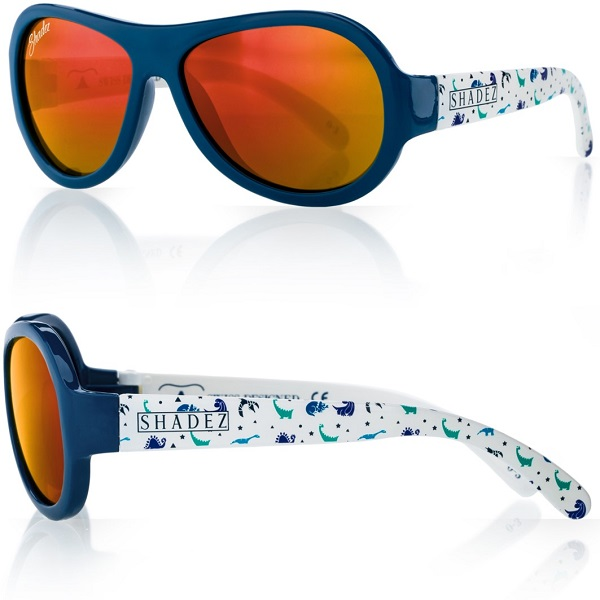 Zonnebril kind - Shadez Dino Blue - Maat 0-3 jr