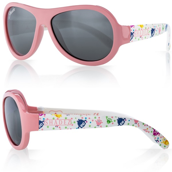 Zonnebril kind - Shadez Owl Pink- Maat 0-3 jr