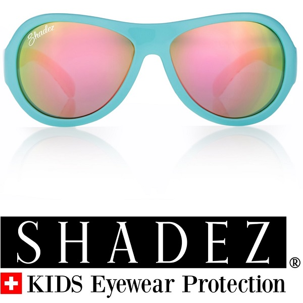 812eeceafd5592 Zonnebril kind - Spiegelglazen - UV400 - Shadez - Ice Cream Blue