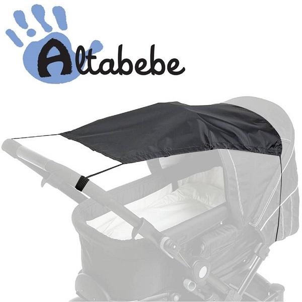 Zonnedoek / Schaduwdoek UV 50+ Altabebe zwart