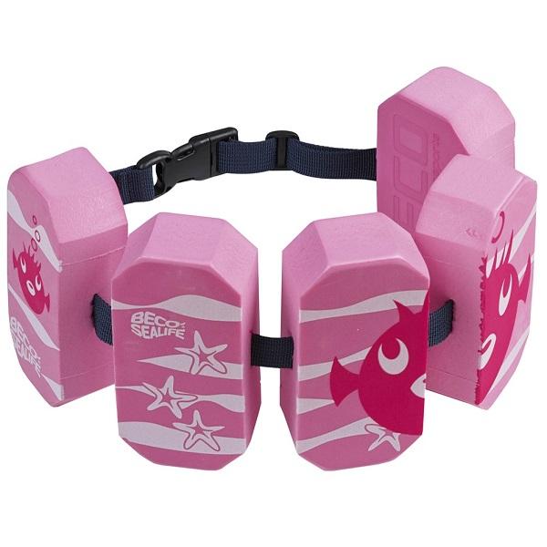 Zwemgordel - Zwemkurkjes Beco Sealife roze