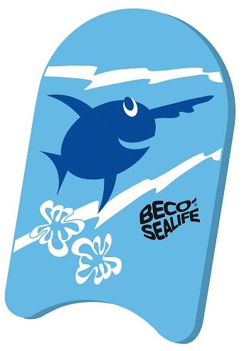 Kinder zwemplankje Beco Sealife blauw