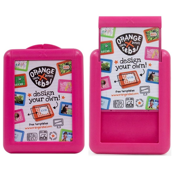 Broodtrommel kind / Lunchbox Orange Rebel - Roze