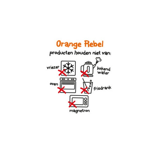 Drinkbeker voor kinderen Orange Rebel - Lime groen