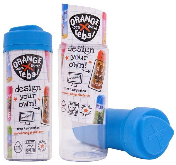 Drinkbeker voor kinderen Orange Rebel - Blauw