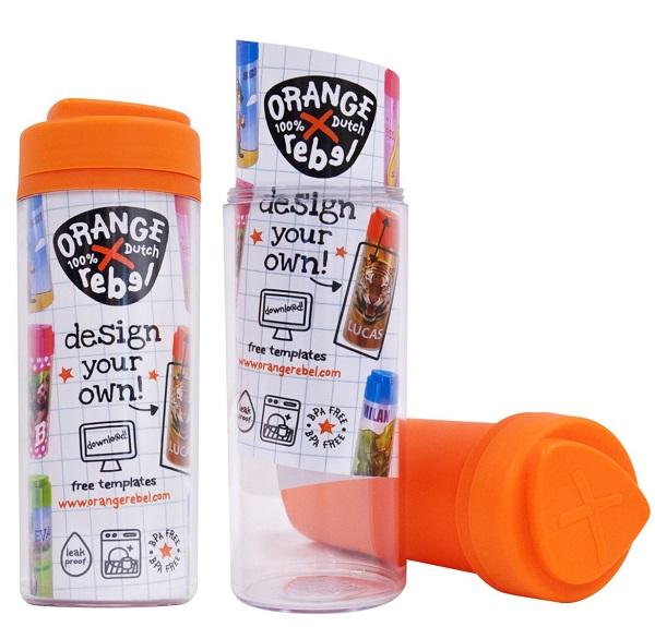 Drinkbeker voor kinderen Orange Rebel - Oranje