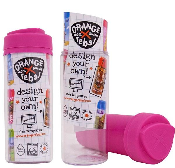 Drinkbeker voor kinderen Orange Rebel - Roze