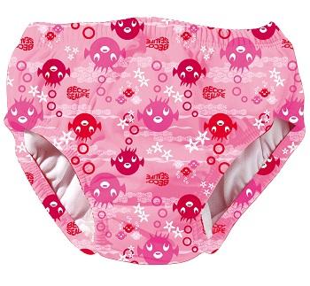 Wasbare zwemluier Beco Sealife roze print