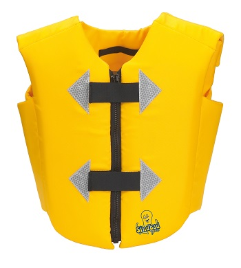 Zwemvest kind 2-6 jr Beco Sindbad geel