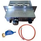Gasbrander set pizzaoven DADA gasbrander + slang + drukregelaar
