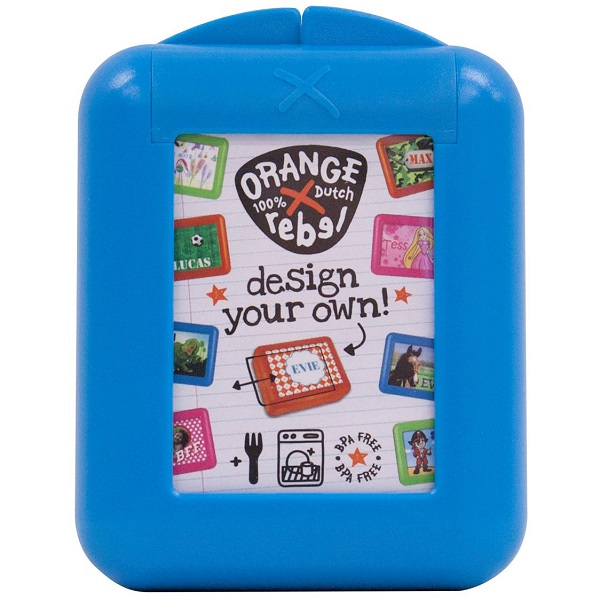 Snackbox voor kinderen Orange Rebel - Blauw