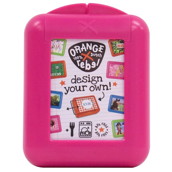 Snackbox voor kinderen Orange Rebel - Roze