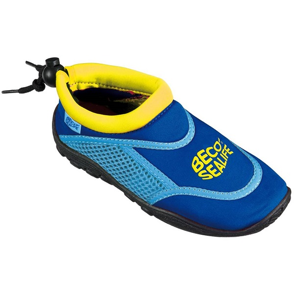 Waterschoenen anti-slip Beco Sealife blauw