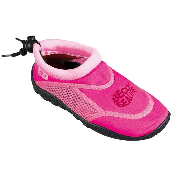 Waterschoenen anti-slip Beco Sealife roze