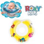 Baby zwemkraag / zwemring Roxy Kids - Babyfloat geel