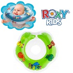 Baby zwemkraag / zwemring Roxy Kids - Babyfloat groen