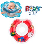 Baby zwemkraag / zwemring Roxy Kids - Babyfloat rood