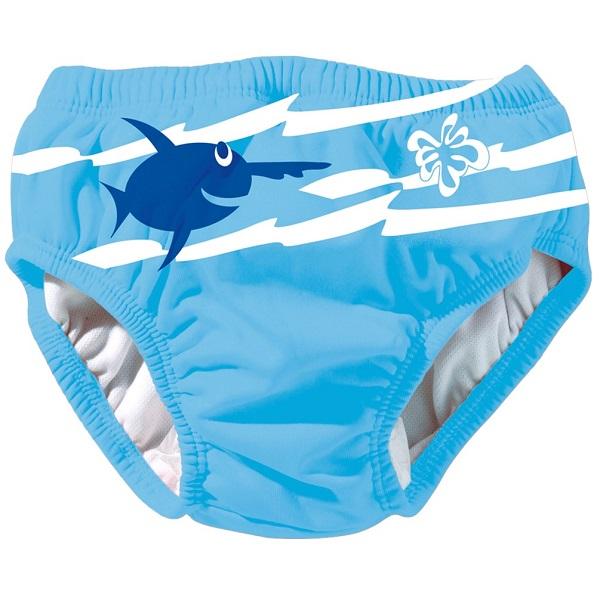 Wasbare zwemluier Beco Sealife blauw