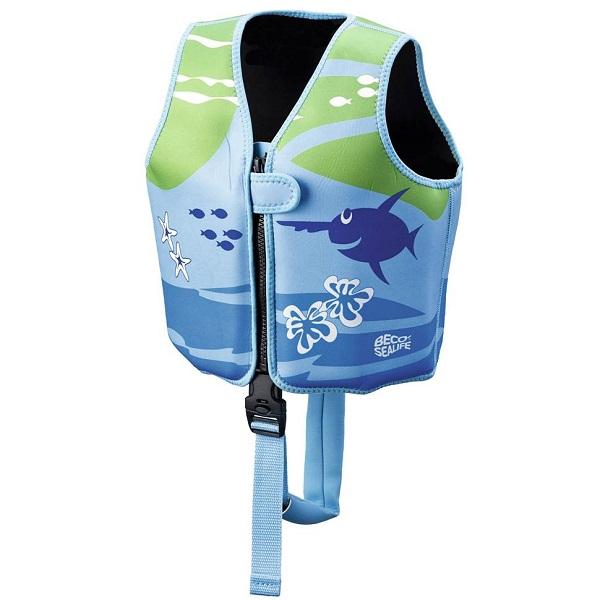 Zwemvest kind Beco Sealife blauw/groen