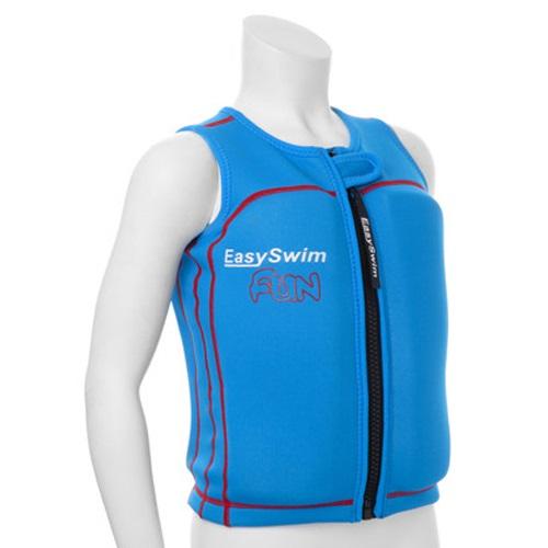 Zwemvest kind EasySwim Fun blauw