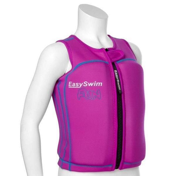 Zwemvest kind EasySwim Fun roze